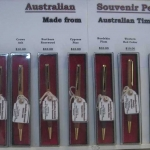 Top quality wooden pens made by Brian Taylor. All different timbers