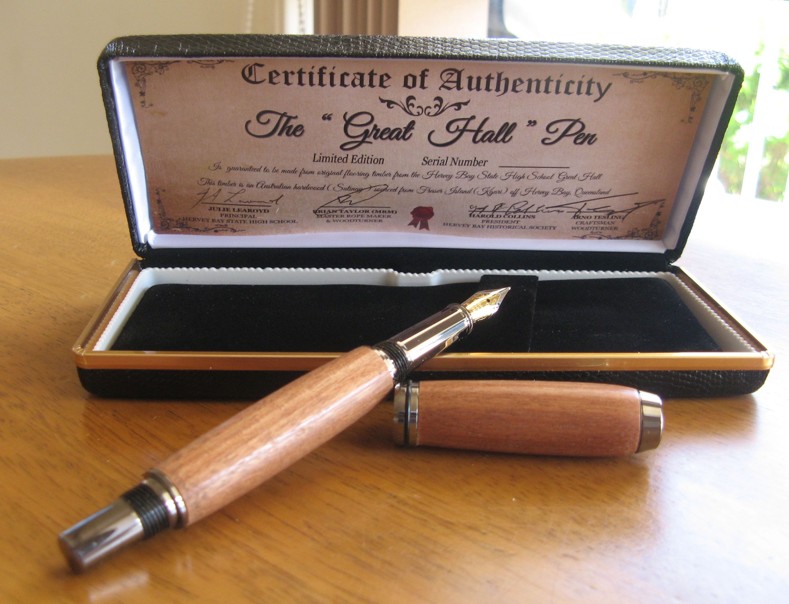 Great Hall Fountain Pen